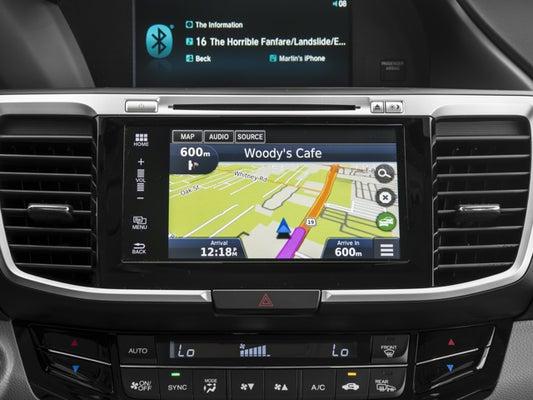2016 Honda Accord Ex L W Navigation And Sensing In Matthews Nc