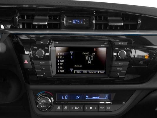 2016 Toyota Corolla S Plus >> 2016 Toyota Corolla S Plus 4dr Sedan