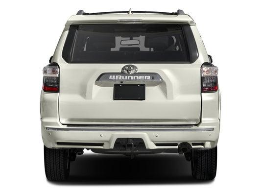 2017 Toyota 4runner Limited 4dr Sport Utility In Matthews Nc Scott Clark