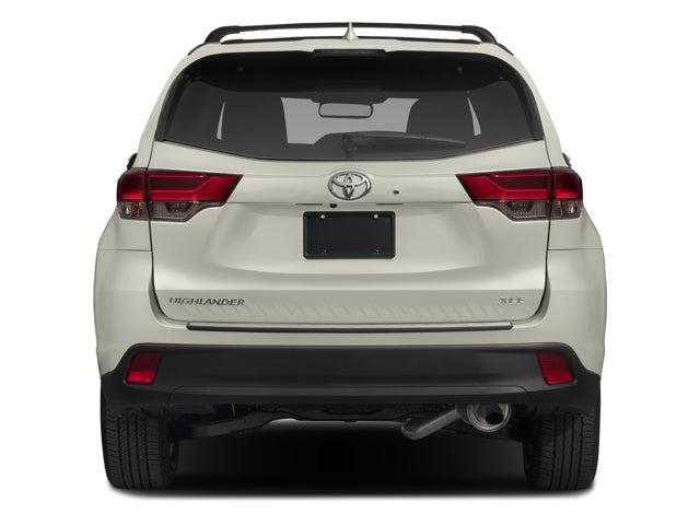 2018 Toyota Highlander Xle 4dr Sport Utility Matthews North
