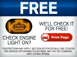 Check Engine Light | Toyota Service Matthews, NC | Scott